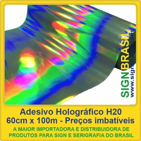Adesivo Holográfico H20