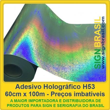 Adesivo Holográfico H53 - 0,60m x 100m