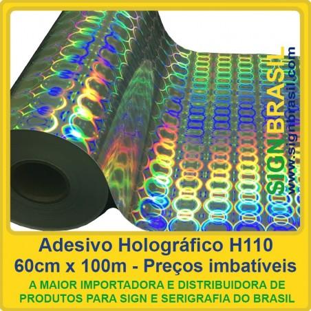 Adesivo Holográfico H110 - 0,60m x 100m