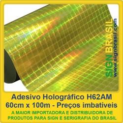 Adesivo Holográfico H62AM - 0,60m x 100m