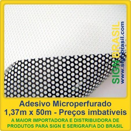 Adesivo Microperfurado