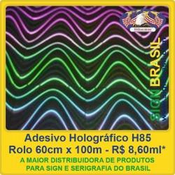 Adesivo Holográfico H85 - 0,60m x 100m
