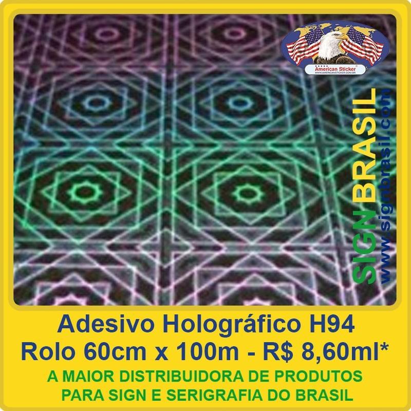 Adesivo Holográfico H94