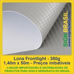 Lona Frontlight 380g - 1,40m x 50m