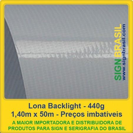 Lona Backlight 440g - 1,40m x 50m