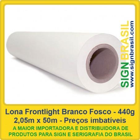 Lona Frontlight Fosca 440g - 2,05m x 50m