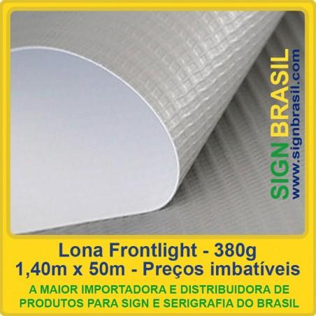 Lona Frontlight 380g para impressão digital - 1,40m