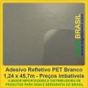 Adesivo refletivo PET - Branco