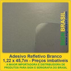 Adesivo refletivo Acrílico - Branco