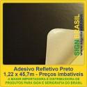 Adesivo refletivo - Preto