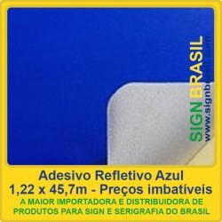 Adesivo refletivo Acrílico - Azul