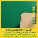 Adesivo refletivo - Verde