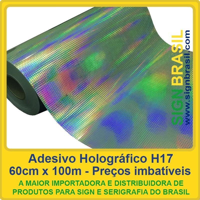Adesivo holográfico personalizado