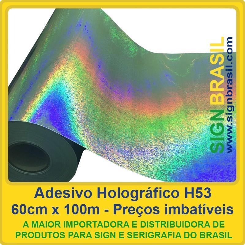 Adesivo Holográfico H53
