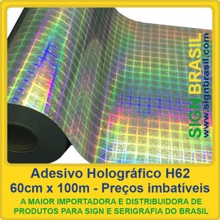 Adesivo Holográfico H62
