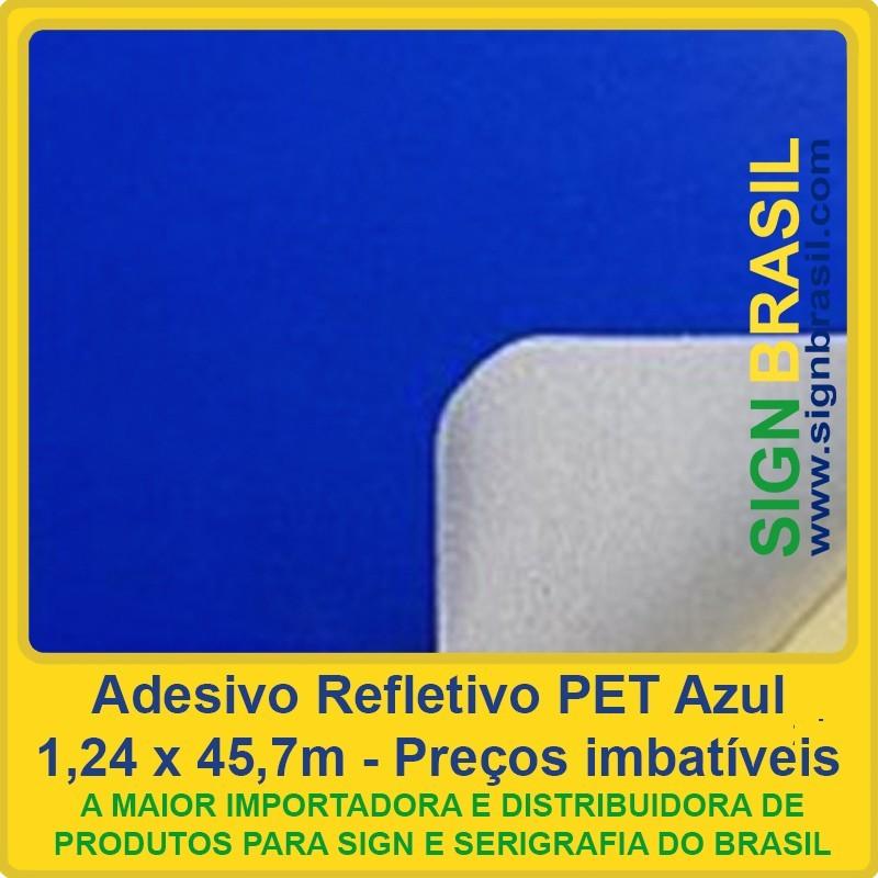 Adesivo refletivo Azul para recorte