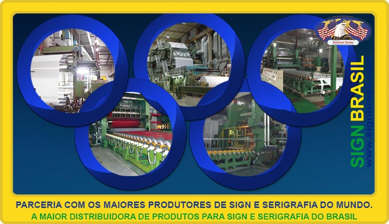 Parceria com os melhores fabricantes do mundo.
