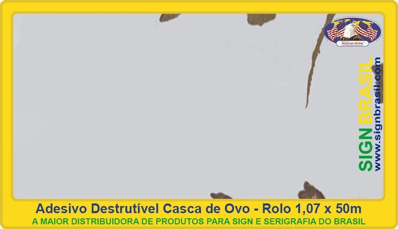 Adesivo casca de ovo Sign Brasil