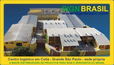 Sign Brasil produtos para comunicação visual.